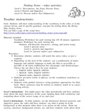 Finding Nemo-Span.-12-pg. packet-3 levels: present, past, subjunctive