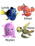 Finding Nemo Student Labels