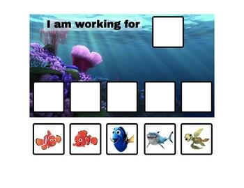 Finding Nemo Token Board - 2 options!