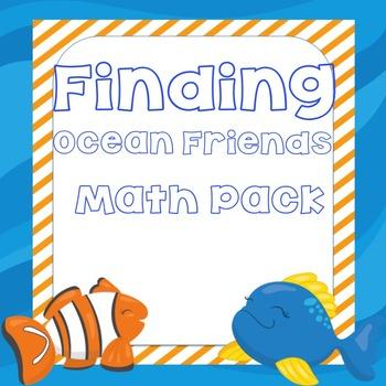 Finding Ocean Friends Math Pack