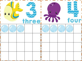 Finding Ocean Friends Math Pack