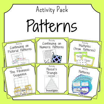 Using Pattern and Sequences Activities
