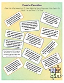 Finding Percent of Number Word Problem Fun Cut & Paste Activity