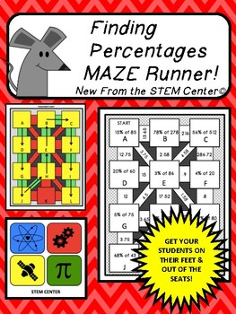 Finding Percentages Maze