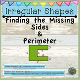 Finding Perimeter of Polygons with Missing Sides