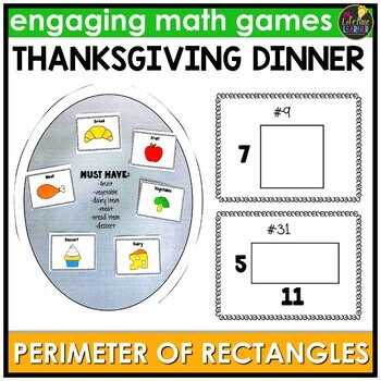 Finding Perimeter of Rectangles Game