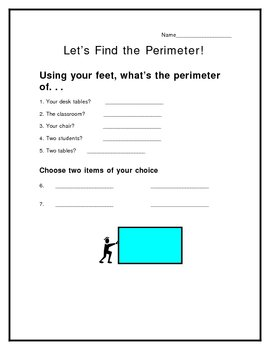 Finding Perimeter with Feet