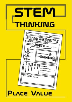 Finding Place Value Doodle Review Elementary Middle School Math