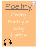 Finding Poetry Vocabulary in Music- Freshman