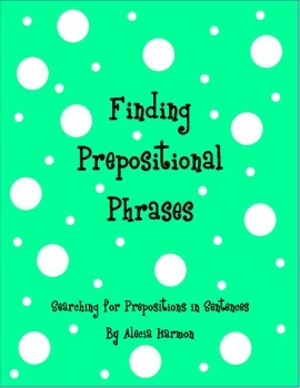 Finding Prepositional Phrases