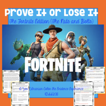 Finding Proof-Text Evidence-Making Inferences-Context Clues (FORTNITE EDITION)