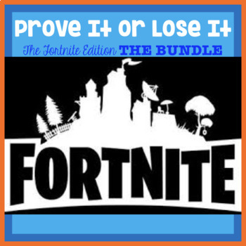 Finding Proof-Text Evidence-Making Inferences-Context Clues (Fortnite Bundle)