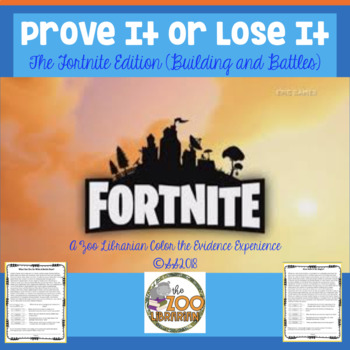 Finding Proof-Text Evidence-Making Inferences-Context Clues (Fortnite Edition 4)