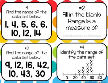 Finding Range Task Cards