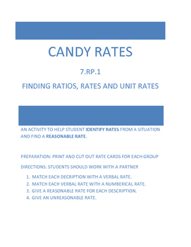 Finding Rates using Candy Examples