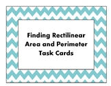Finding Rectilinear Area and Perimeter Task Cards