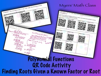 Finding Roots of Polynomial Functions Given a Factor or Root