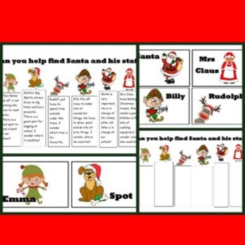 Finding Santa Game- A fun and engaging Christmas Game for students