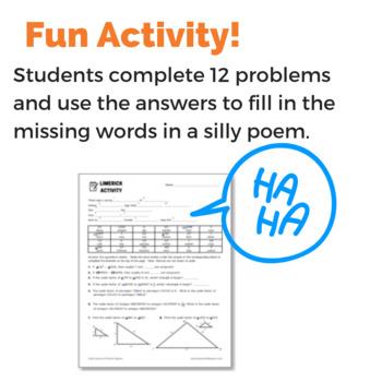 Finding Scale Factors of Similar Figures Fun Activity