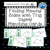Finding Side Measures of Right Triangles Using Trig Google Activity Plus Quiz