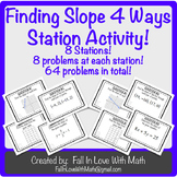 Finding Slope 4 Ways Station Activity