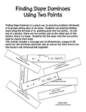 Finding Slope Dominoes - PP
