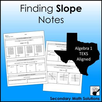 Slope Notes (A3A)