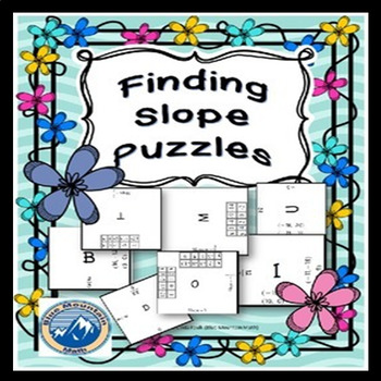 Finding Slope Puzzles