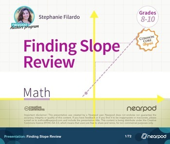 Finding Slope Review
