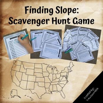 Finding Slope: Scavenger Hunt Game