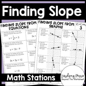 Slope Math Stations