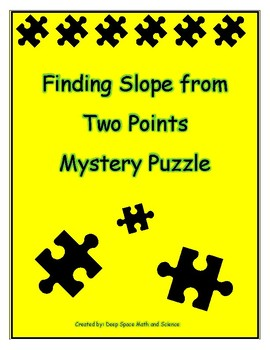 Finding Slope from Two Points Puzzle