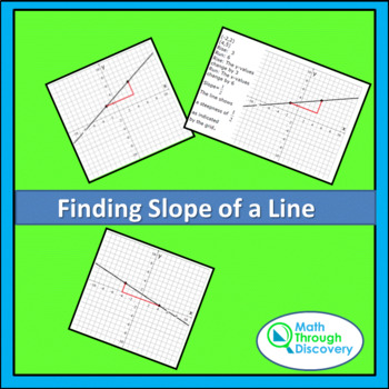Finding Slope of a Line