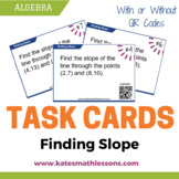 Finding Slope of a Line Task Cards