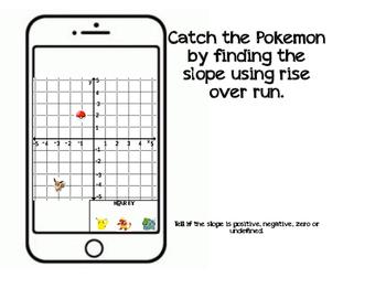 Finding Slope using Pokemon Go