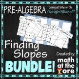 Finding Slopes BUNDLE for Google Slides™