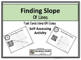 Finding Slopes of a Line QR Codes Task Cards