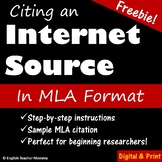 Citing a Web Source in MLA Format