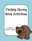 Finding Spring Book Activities