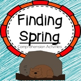 Story Comprehension Activities:  Finding Spring