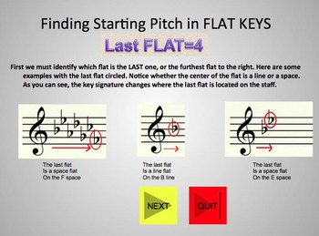 Finding Starting Pitch scale degrees in ANY KEY