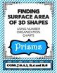 Finding Surface Area of Prisms Pyramids Wksht Bundle using Organizational Charts