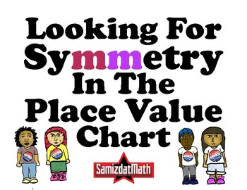 Finding Symmetry on the Place Value Chart: 4th - 8th grade