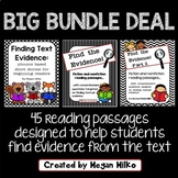 Finding Text Evidence Big Bundle Deal