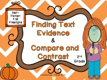 Finding Text Evidence and Compare and Contast