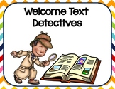 Finding Text Evidence by Being a Text Detective