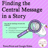 Finding The Central Message in a Story
