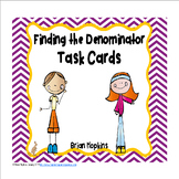Finding The Denominator Task Cards FREEBIE