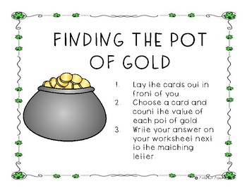 Finding The Pot of Gold Counting Coins To One Dollar