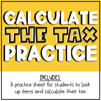 Finding The Tax